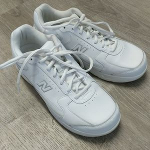 New Balance Shoes 8 4E Wide White Walking Sneakers